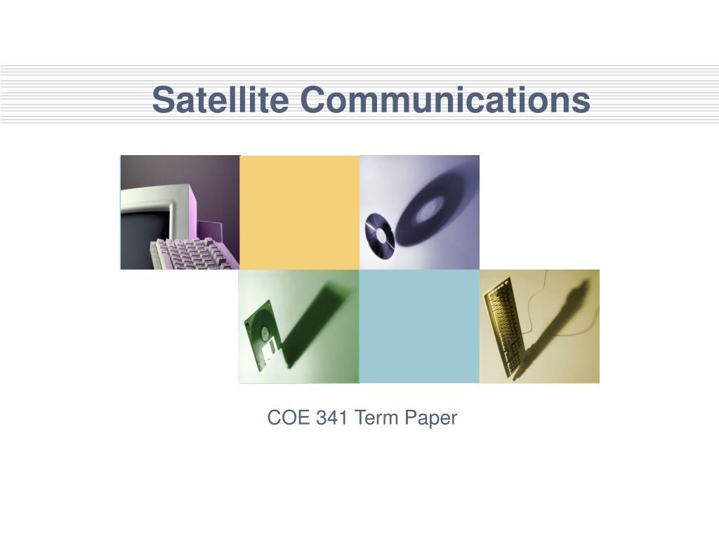 satellite communications l.