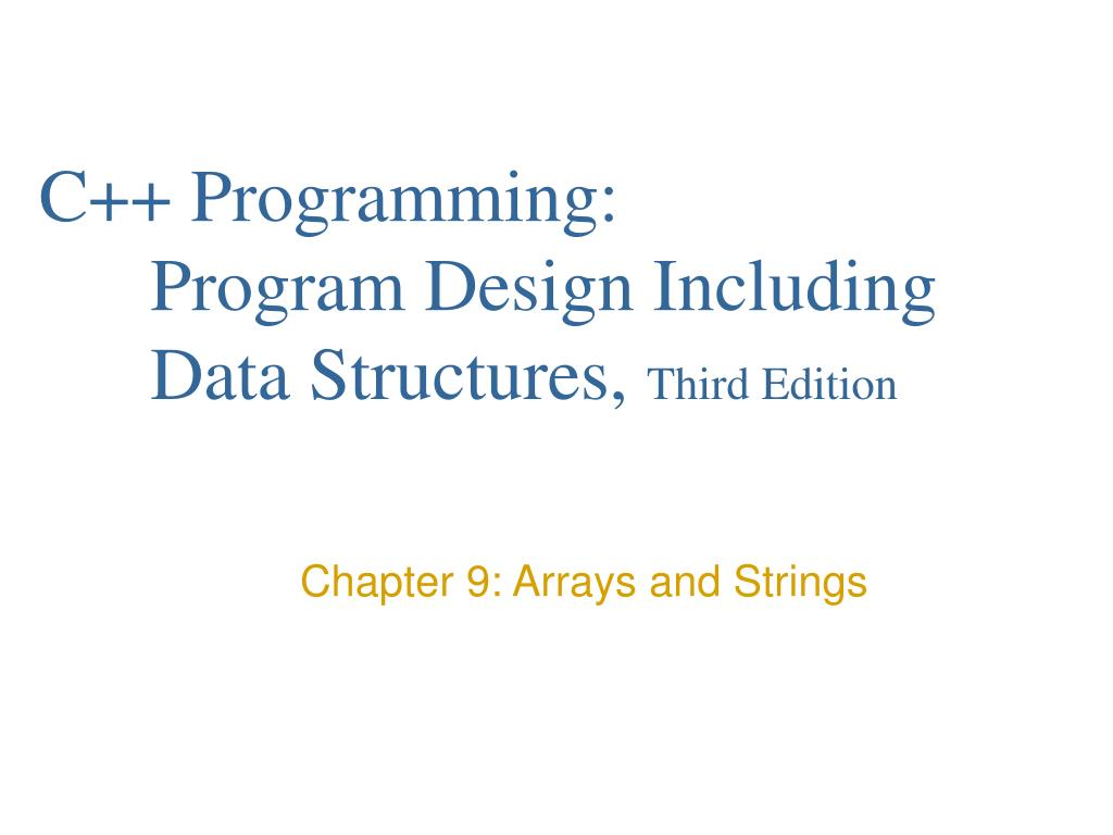 c programming program design including data structures third edition l.