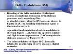 delta modulation dm41