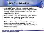 delta modulation dm44