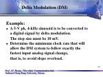 delta modulation dm46