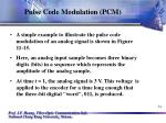 pulse code modulation pcm34