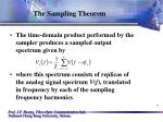 the sampling theorem5