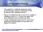 the sampling theorem6