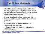 time division multiplexing19