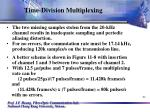 time division multiplexing21