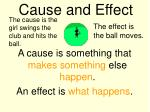 cause and effect8