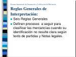 sistema armonizado de designaci n y codificaci n de mercanc as reglas generales de interpretaci n