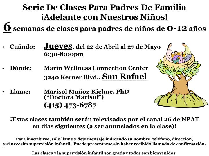 Serie de clases para padres de familia adelante con nuestros ni os2