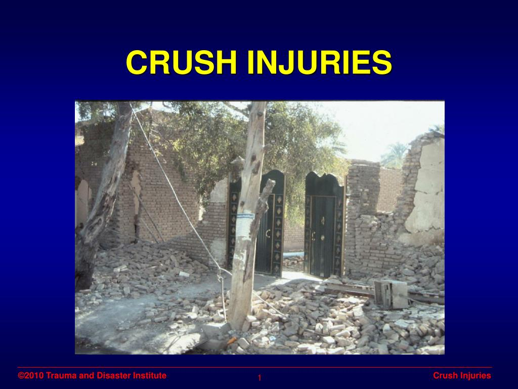 crush injuries l.