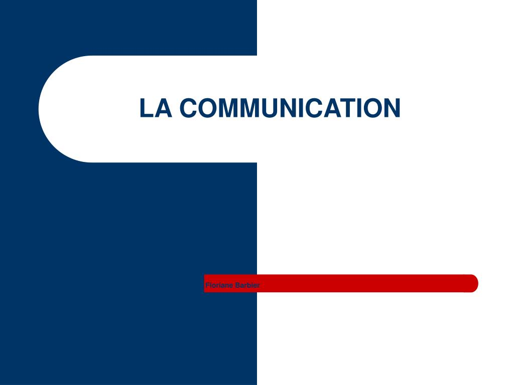 la communication l.
