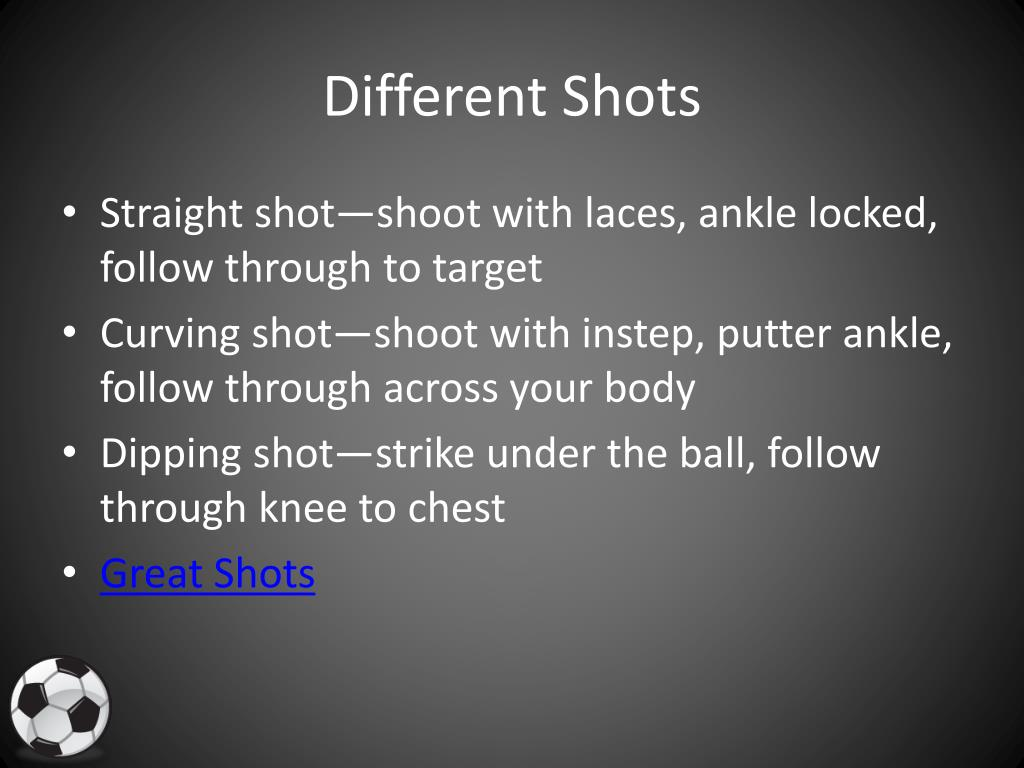 Different Shots