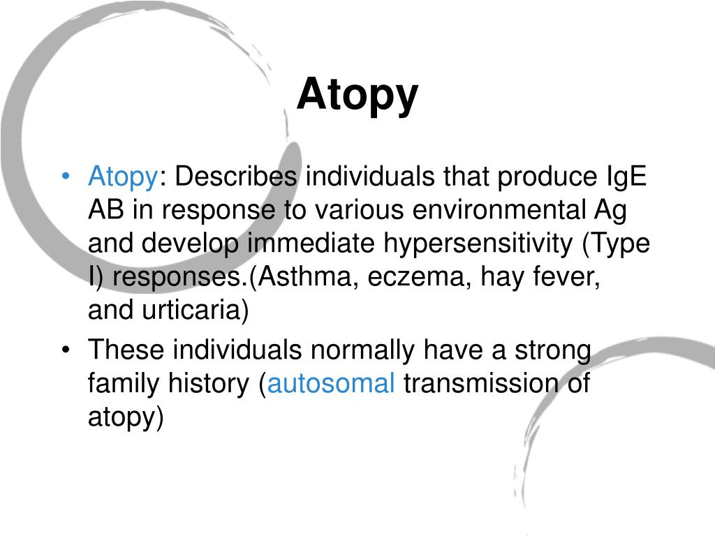 Atopy