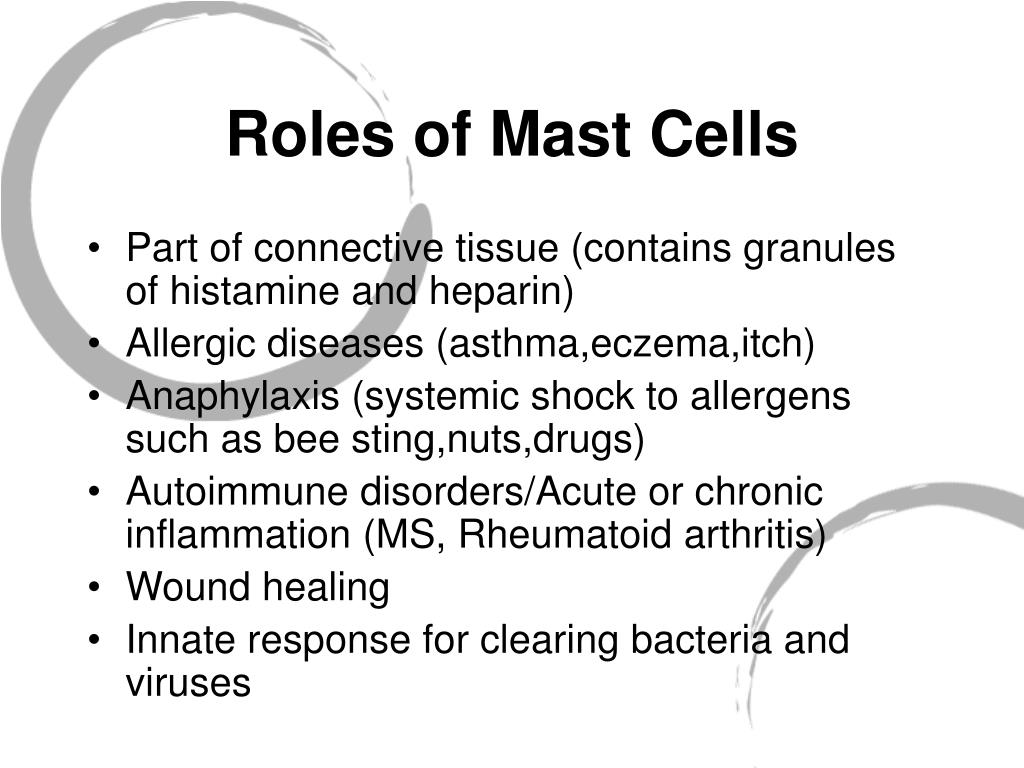 Roles of Mast Cells