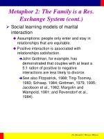 metaphor 2 the family is a res exchange system cont14