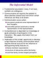 the inferential model