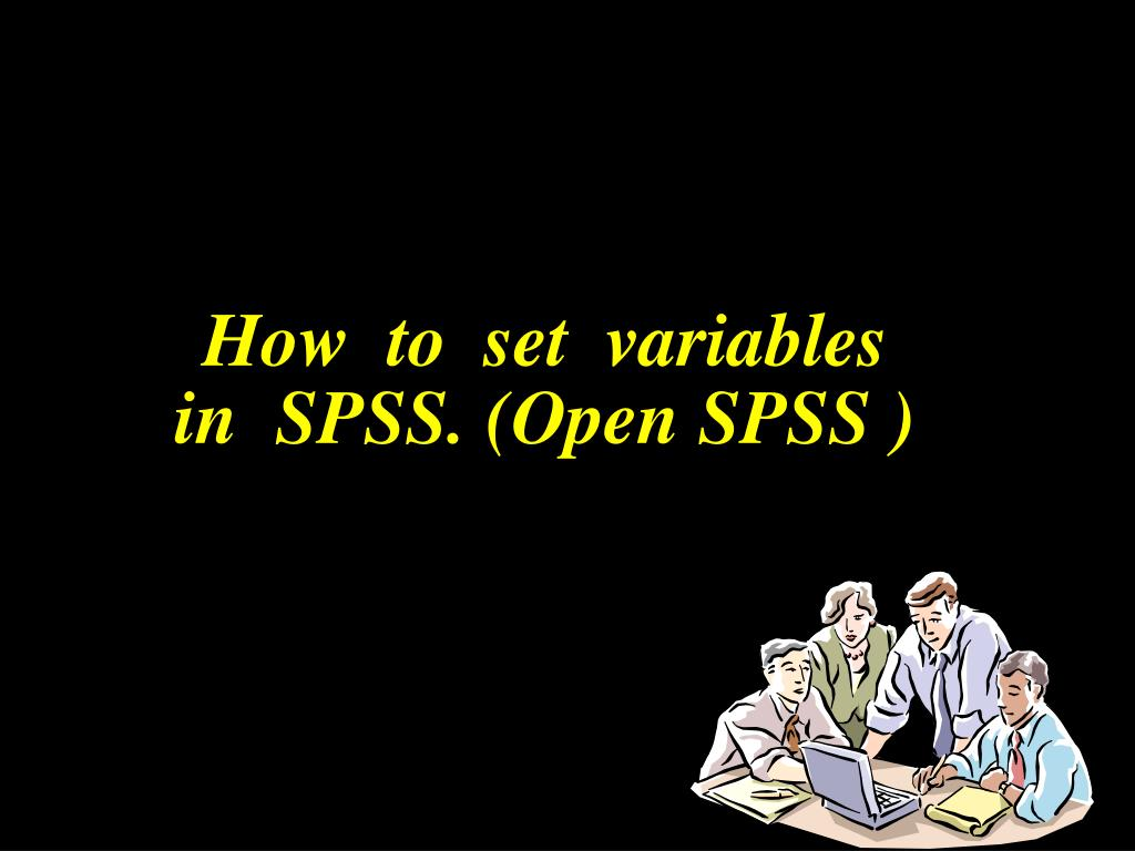 How  to  set  variables