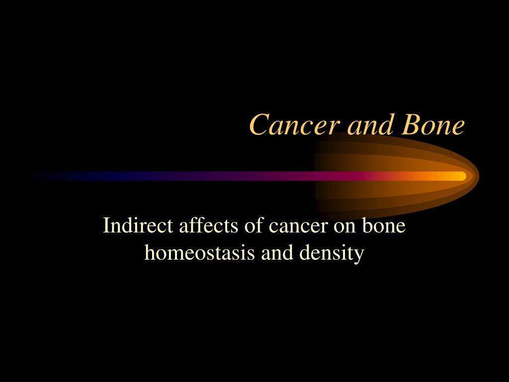 cancer and bone l.