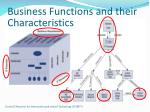 business functions and their characteristics