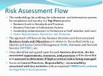 risk assessment flow