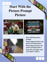 start with the picture prompt picture