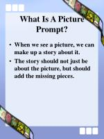 what is a picture prompt