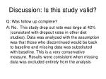 discussion is this study valid40