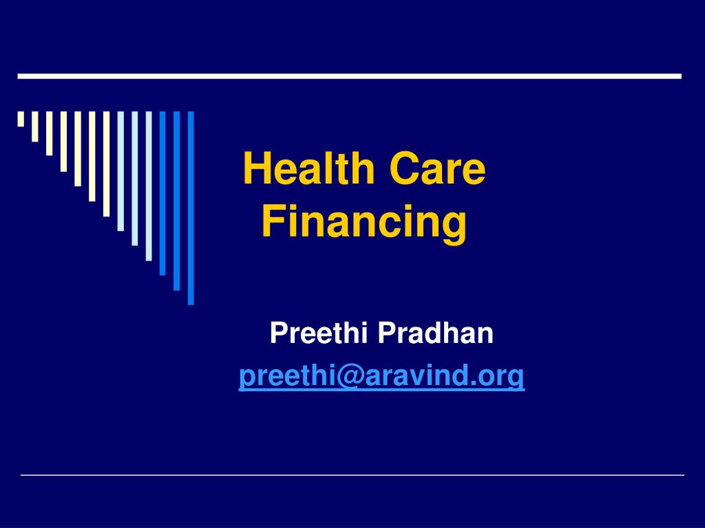 health care financing l.