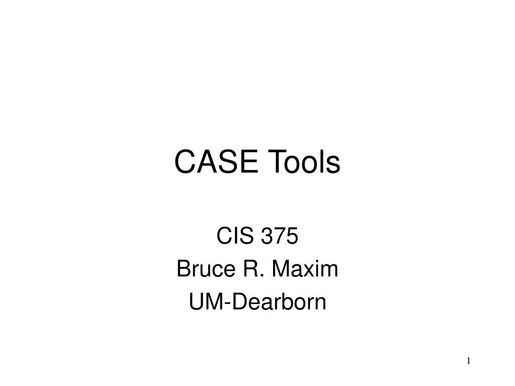 case tools l.