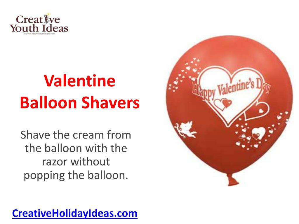 valentine balloon shavers l.