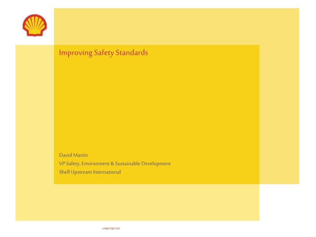 improving safety standards l.
