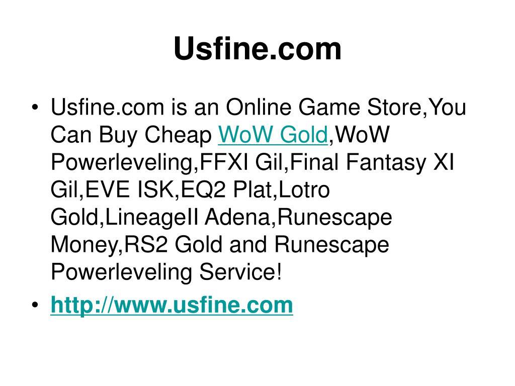 Usfine.com