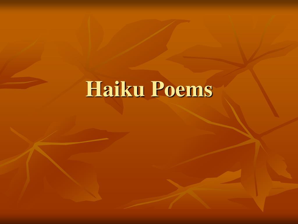 haiku poems l.