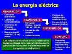 la energ a el ctrica