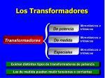 los transformadores