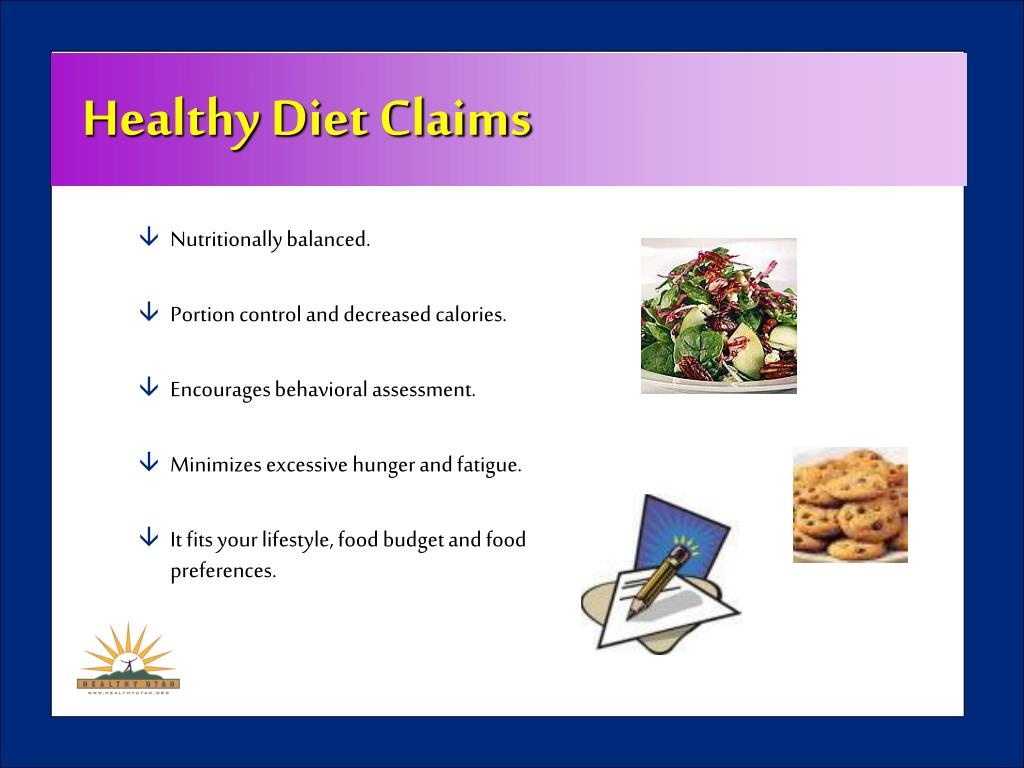 Healthy Diet Claims