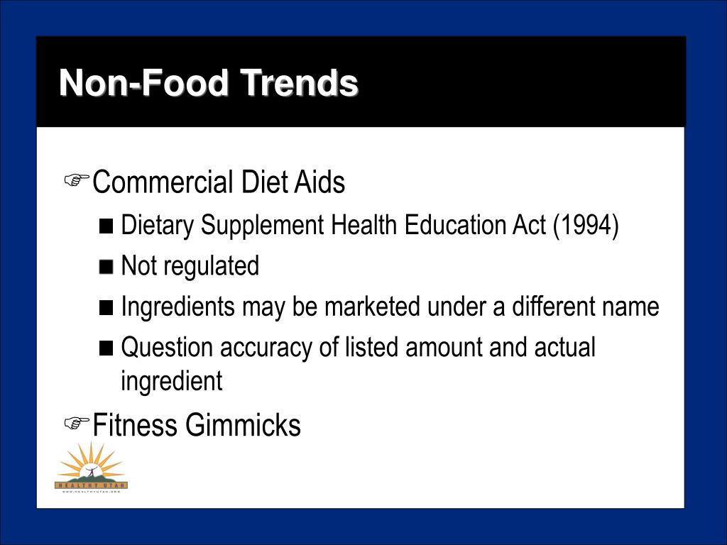 Non-Food Trends
