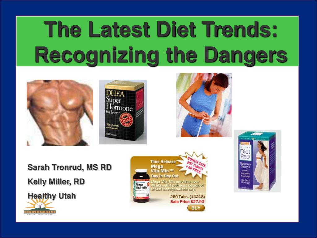 the latest diet trends recognizing the dangers l.