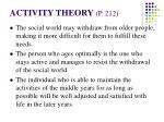 activity theory p 21215
