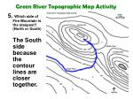 green river topographic map activity11