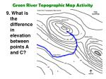 green river topographic map activity18