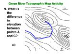 green river topographic map activity19