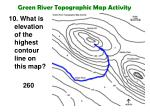 green river topographic map activity23