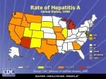 rate of hepatitis a united states 1998