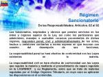 r gimen sancionatorio58