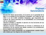 r gimen sancionatorio61