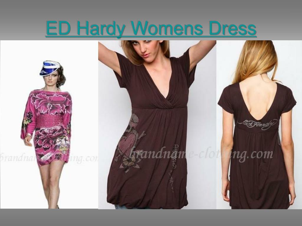 ed hardy womens dress l.