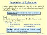 properties of relaxation7