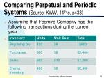 comparing perpetual and periodic systems source kww 14 th e p438