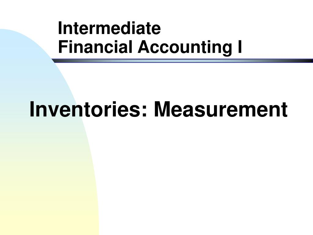 inventories measurement l.